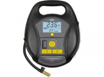 Ring Luftkompressor Trådløs Digital - Oppumpning under 2 min - Trådløs - Inkl. handsker, ventilhætter og praktisk taske