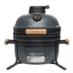 RON Keramisk BBQ-grill Grå 40 cm (16')