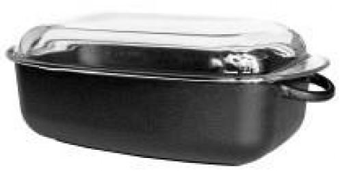 Ronneby Bruk Oval gryde 4,5 ltr, glaslåg