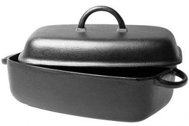 Ronneby Bruk Oval gryde 5,5 ltr, jernlåg