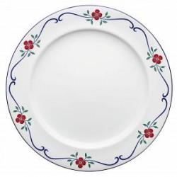 Rörstrand Sundborn 6 stk. små hvide tallerkener 21 cm