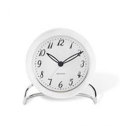 Rosendahl Arne Jacobsen LK bordur, hvid/hvid, Ø 11 cm, alarmfunktion