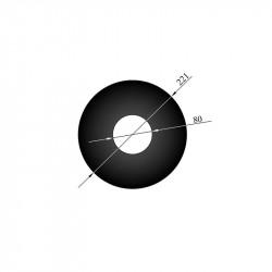 Rosette 70,5 mm kant