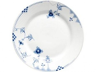 Royal Copenhagen Blå Elements Frokosttallerken 22 cm