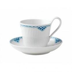 Royal Copenhagen Kaffekop med underkop 25 cl 1 stk.
