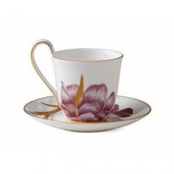 Royal Copenhagen Kaffekop med underkop Iris 27 cl 1 stk.