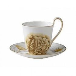 Royal Copenhagen Kaffekop med underkop Mælkebøtte 27 cl 1 stk.