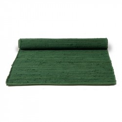 Rug Solid Guilty Green Bomuldstæppe