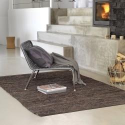 Rug Solid tæppe - brun 200x300 cm
