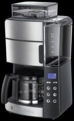 Russell Hobbs Grind & Brew Kaffemaskine - Børstet Stål