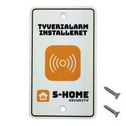 S-Home alarmskilt