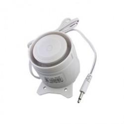 S-Home sirene med kabel og stik