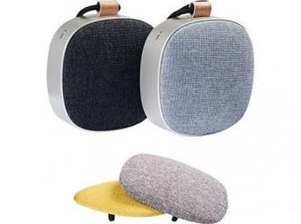 SACKit WOOFit Go Stereo Transportabel højtaler - 2 stk. - Black/Dusty blue - Inkl. 2 fronte