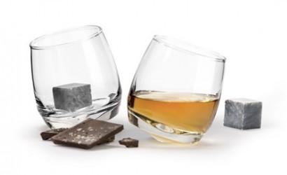 Sagaform Club whiskeyglas afrundet bund 2-pak. Drinkssten 2-pak.