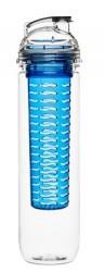 Sagaform Fresh flaske med frugtrum blå