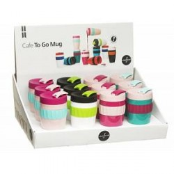 Sagaform To Go krus Mix display, 12-pak