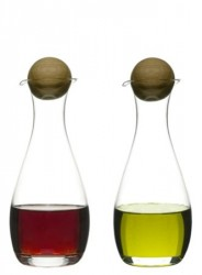 Sagaform Vineddikeflaske med Egkork, 2-pak