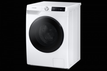 Samsung WD80T634CBE Vaske-tørremaskine - Hvid