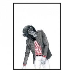Sanna wieslander monkey business (50x70)