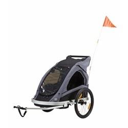 SCO Cykeltrailer til 2 børn