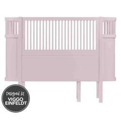 Sebra baby & junior seng (rosa)