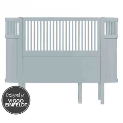 Sebra baby & junior seng (sky blÅ)
