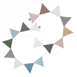 Sebra flagranke (blomme/blÅ)
