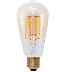 SEGULA LED Edison E27 6W 400lm 2000K Clear Filament Dæmpbar