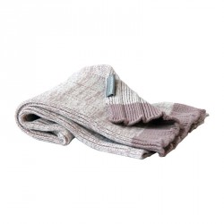 Semibasic Hand Plissé Knit Towel Rose