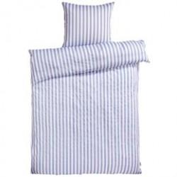 Sengetøj - REDGREEN - Hvid med lyseblå striber