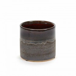 Serax Pot Brown Glaze S