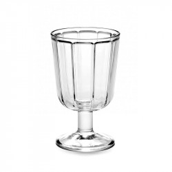 Serax Surface White Wine Glass
