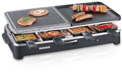 Severin Partygrill Raclette & Grillsten