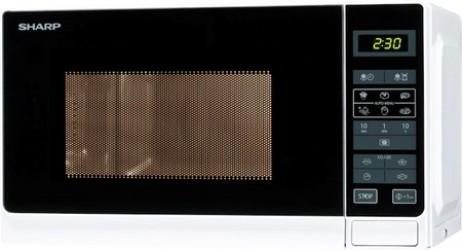 Sharp Mikrobølgeovn 20L hvid, R242WW