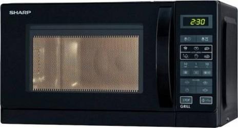 Sharp Mikrobølgeovn 20L sort,R642BKW