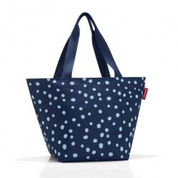 Shopper m (spots navy)