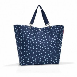 Shopper xl (spots navy)