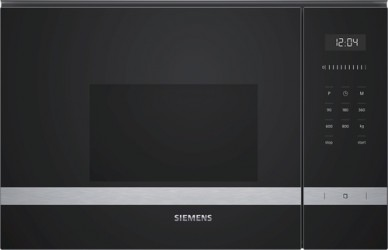 Siemens Bf525lms0 Indbygningsmikroovn - Stål
