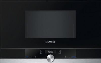Siemens Bf634lgs1 Iq700 Indbygningsmikroovn - Rustfrit Stål