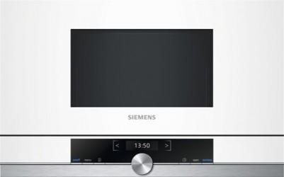 Siemens Bf634rgw1 Iq700 Indbygningsmikroovn - Hvid