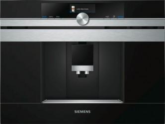 Siemens Ct636les6 Home Connect Indbygningskaffemaskine - Rustfrit Stål
