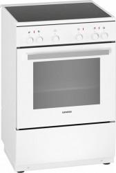 Siemens Hk0p00020u Iq100 Keramisk Komfur - Hvid