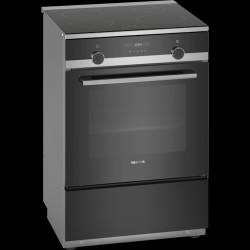 Siemens iQ500 komfur (rustfrit stål/sort)