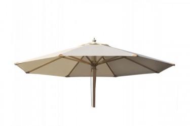 Signe Parasol Ø 3 meter - 2-delt - Natur