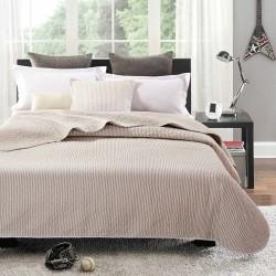 Simone quiltet sengetæppe - Beige