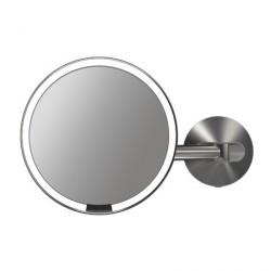 Simplehuman Vægmonteret Sensorstyret Make-up Spejl med TRU-LUX LED-lys for El-installation