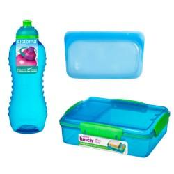 Sistema madpakkesæt - Blå