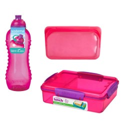 Sistema madpakkesæt - Pink