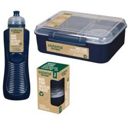 Sistema madpakkesæt - Renew - Mørkeblå