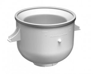 Skål til islavning til køkkenmaskine hvid 1,9 liter